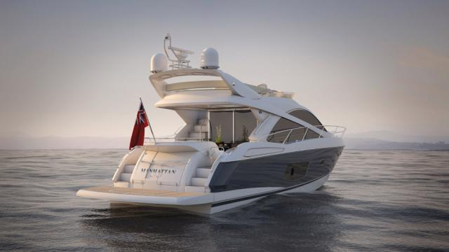 Яхты Sunseeker Manhattan 53