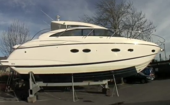 13m Princess V42 MkIII