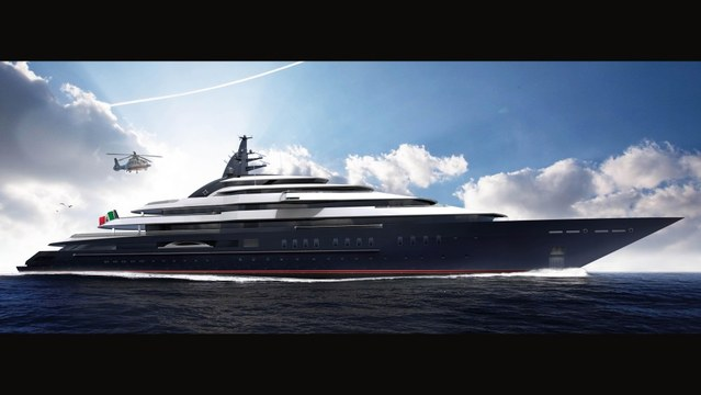 Lürssen's Gigayacht Project Redwood on Track for 2019 Delivery