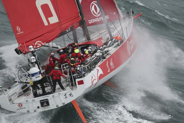 Leg 4 of the Volvo Ocean Race recap in 150 seconds (VIDEO)
