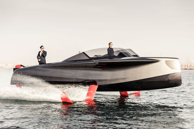 ENATA TO DEBUT NEW EVOLUTION OF THE FOILER FLYING YACHT AT 2019 DUBAI INTERNATIONAL BOAT SHOW