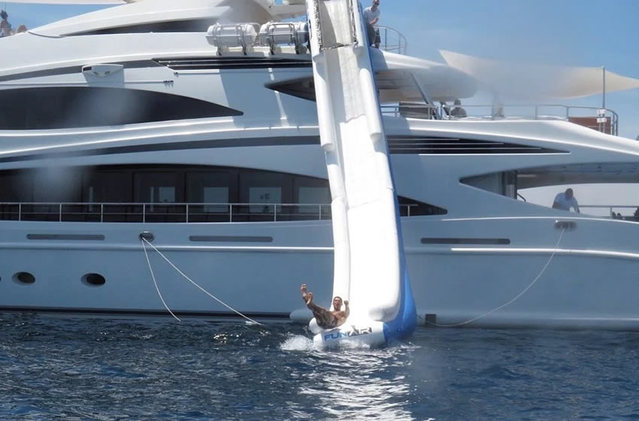 Cristiano Ronaldo Hits the French Riviera on a $221,500 per Week Superyacht
