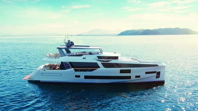 Sirena's New Pocket Superyacht Sports Two Pools, a Beach Club and a Lavish Master Suite