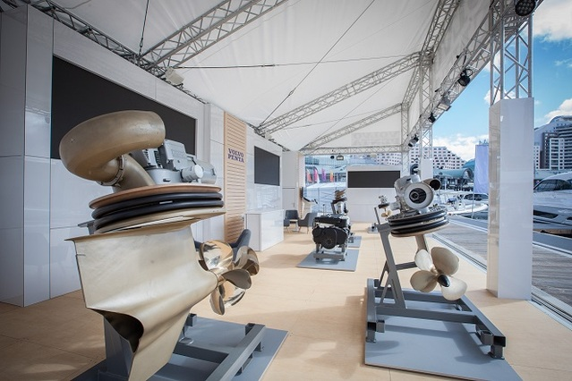 World debut of Volvo Penta's new D4 & D6 packages at Sydney International Boat Show