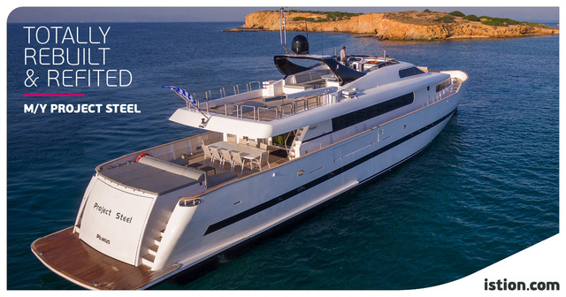 M/Y Project Steel Revamp | In Pole Position after an outstanding total rebuild!